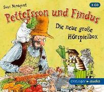 Cover-Bild zu Pettersson und Findus - Die neue große Hörspielbox (3 CD) von Nordqvist, Sven
