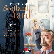 Cover-Bild zu Die größten Fälle von Scotland Yard, Folge 8: Dr. Crippen (Audio Download) von Masuth, Andreas