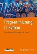 Cover-Bild zu Steyer, Ralph: Programmierung in Python