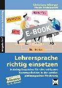 Cover-Bild zu Lehrersprache richtig einsetzen (eBook) von Eiberger, Christiane
