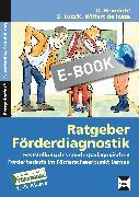 Cover-Bild zu Ratgeber Förderdiagnostik (eBook) von Heimlich, U.