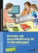 Cover-Bild zu Beratung und Gesprächsführung für Sonderpädagogen (eBook) von Wilfert, Kathrin
