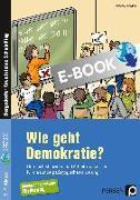 Cover-Bild zu Wie geht Demokratie? - Förderschule (eBook) von Kühlewind, Rainer