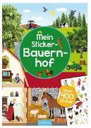 Cover-Bild zu Bräuer, Ingrid (Illustr.): Mein Sticker-Bauernhof