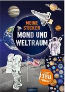 Cover-Bild zu Bräuer, Ingrid (Illustr.): Meine Sticker - Mond und Weltraum