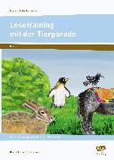Cover-Bild zu Lesetraining mit der Tierparade von Lehtmets, Beatrix