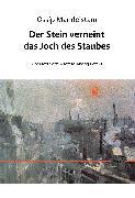 Cover-Bild zu Mandelstam, Ossip: Der Stein verneint das Joch des Staubes (eBook)