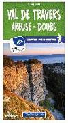 Cover-Bild zu Val-de-Travers / Areuse - Doubs 16 Wanderkarte 1:40 000 matt laminiert. 1:40'000