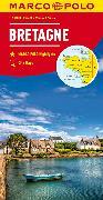 Cover-Bild zu MARCO POLO Karte Bretagne 1:200 000. 1:200'000