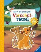 Cover-Bild zu Mein Stickerspaß Disney Der König der Löwen: Vorschulrätsel