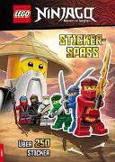 Cover-Bild zu LEGO® NINJAGO® - Stickerspaß