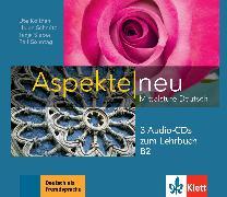 Cover-Bild zu Aspekte neu B2. 3 Audio-CDs zum Lehrbuch von Koithan, Ute
