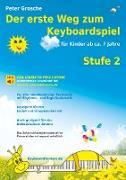 Cover-Bild zu Der erste Weg zum Keyboardspiel (Stufe 2) (eBook) von Grosche, Peter