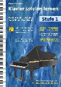 Cover-Bild zu Klavier spielen lernen (Stufe 1) (eBook) von Grosche, Peter
