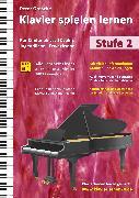 Cover-Bild zu Klavier spielen lernen (Stufe 2) (eBook) von Grosche, Peter