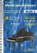 Cover-Bild zu Klavier spielen lernen (Stufe 1) von Grosche, Peter