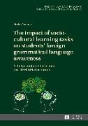 Cover-Bild zu Niesen, Heike: impact of socio-cultural learning tasks on students' foreign grammatical language awareness (eBook)