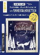Cover-Bild zu Vorlagenmappe Fensterdeko mit dem Kreidemarker & Papiersilhouetten - Wunderbare Winterzeit