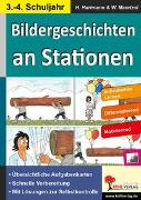 Cover-Bild zu Bildergeschichten an Stationen (eBook) von Hartmann, Horst