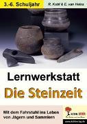 Cover-Bild zu Lernwerkstatt Die Steinzeit (eBook) von Kohl, Rüdiger