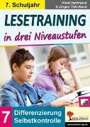 Cover-Bild zu Lesetraining in drei Niveaustufen / Klasse 7 (eBook) von Hartmann, Horst