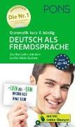 Cover-Bild zu PONS Grammatik kurz & bündig Deutsch als Fremdsprache