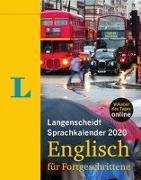 Cover-Bild zu Langenscheidt Sprachkalender 2020 Englisch für Fortgeschrittene von Langenscheidt, Redaktion (Hrsg.)
