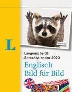 Cover-Bild zu Langenscheidt Sprachkalender 2020 Englisch Bild für Bild - Abreißkalender von Langenscheidt, Redaktion (Hrsg.)