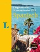 Cover-Bild zu Langenscheidt Sprachkalender 2020 Spanisch - Abreißkalender von Langenscheidt, Redaktion (Hrsg.)