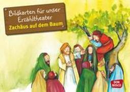 Cover-Bild zu Bildkarten für unser Erzähltheater: Zachäus auf dem Baum von Lefin, Petra (Illustr.)
