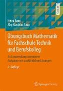 Cover-Bild zu eBook Übungsbuch Mathematik für Fachschule Technik und Berufskolleg