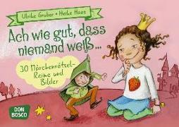 Cover-Bild zu Ach wie gut, dass niemand weiß von Gruber, Ulrike