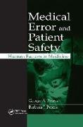 Cover-Bild zu Medical Error and Patient Safety von Peters, George A.