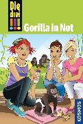Cover-Bild zu Heger, Ann-Katrin: Die drei !!!, 58, Gorilla in Not (drei Ausrufezeichen) (eBook)