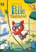 Cover-Bild zu Heger, Ann-Katrin: Pelle Tigerkralle - Großer Lesespaß zum Vor- und Selberlesen mit lustigen farbenfrohen Illustrationen