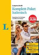 Cover-Bild zu Langenscheidt Komplett-Paket Italienisch
