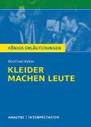 Cover-Bild zu Kleider machen Leute von Gottfried Keller von Keller, Gottfried