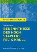 Cover-Bild zu Bekenntnisse des Hochstablers Felix Krull