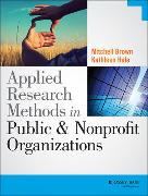 Cover-Bild zu Brown, Mitchell: Applied Research Methods in Public and Nonprofit Organizations