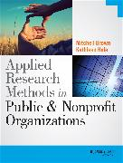 Cover-Bild zu Hale, Kathleen: Applied Research Methods in Public and Nonprofit Organizations (eBook)