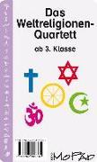 Cover-Bild zu Das Weltreligionen-Quartett von Wehren, Bernd
