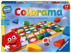 Cover-Bild zu Ravensburger 24921 - Colorama - Zuordnungsspiel für die Kleinen - Spiel für Kinder ab 3 bis 6 Jahren, Spielend Neues Lernen für 1-6 Spieler von Lehmann, Manfred