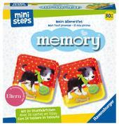Cover-Bild zu Ravensburger ministeps 4176 Mein allererstes memory - Das klassische Gedächtnisspiel mit 24 Stoff-Karten und süßen Tierkindern, Spielzeug ab 2,5 Jahre