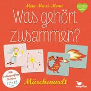 Cover-Bild zu Mein Maxi-Memo - Was gehört zusammen? - Märchenwelt von Merkel, Daniela (Illustr.)