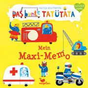 Cover-Bild zu Das bunte Tatütata - Mein Maxi-Memo von Holtfreter, Nastja (Illustr.)