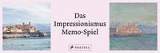 Cover-Bild zu Das Impressionismus Memo-Spiel (Memo) -
