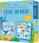 Cover-Bild zu Mein buntes Memo und Bilderlotto: Tiere im Meer von Nolan, Kate