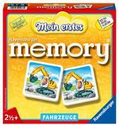 Cover-Bild zu Ravensburger 21437 - Mein erstes memory® Fahrzeuge, der Spieleklassiker für die Kleinen, Kinderspiel für alle Fahrzeug-Fans ab 2 Jahren von Hurter, William H.
