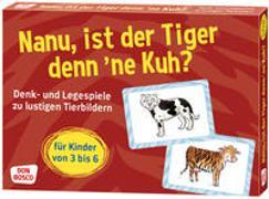 Cover-Bild zu Nanu, ist der Tiger denn 'ne Kuh? von Gully, Angela