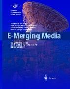 Cover-Bild zu E-Merging Media von Burgelmann, Jean-Claude